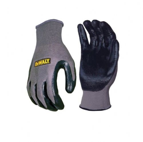 Dewalt DPG66L Nitrile Nylon Gloves Large